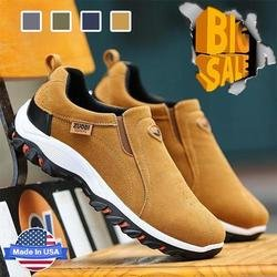 Men's Good arch support & Easy to put on and take off & Breathable and light & Non-slip Shoes