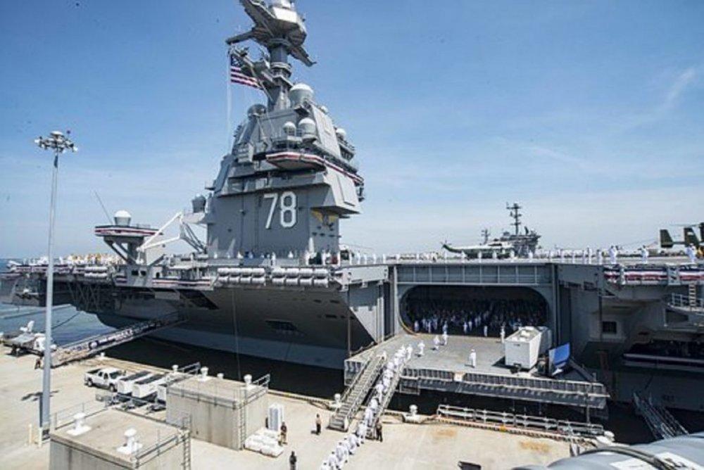 USS Gerald Ford, cel mai scump portavion din istorie, are probleme majore