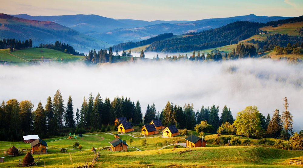 Carpathian Mountains in Ukraine. When is better: summer or winter?