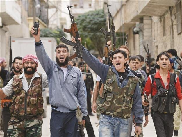 US hasn't given a cent for wages: Syria rebels - World News