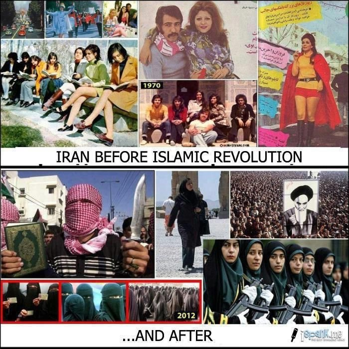 IRAN....BEFORE AND AFTER RÉVOLUTION....A MÉDITATION....ART AND PHOTOS ON  FACEBOOK..... | Revolution, People of the world, Photos on facebook