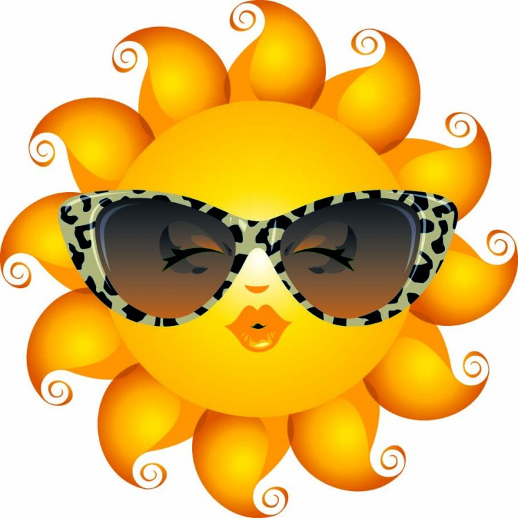 sun with sunglasses emoticon - Google Search (With images ...