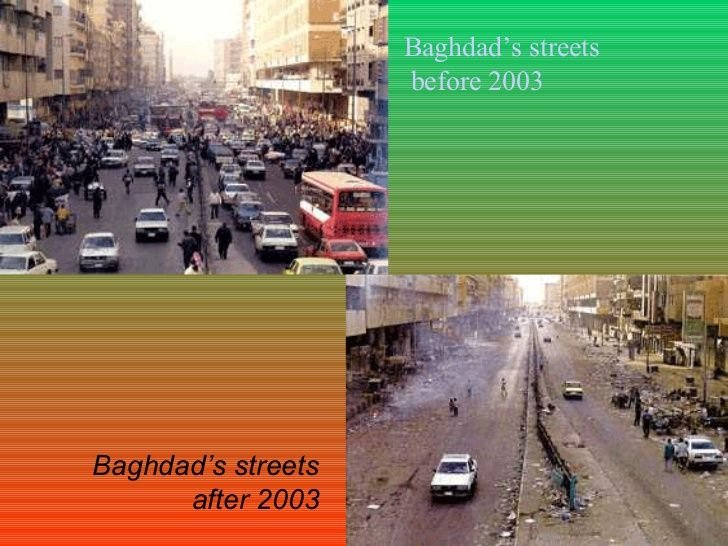 Baghdad Before After | Baghdad, Before and after pictures, Iraq