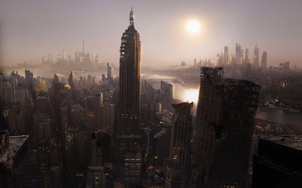 Post apocalyptic New York Wallpaper | Post apocalyptic, New york wallpaper, Post  apocalyptic art