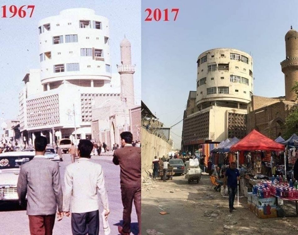 Baghdad between then and now!: UrbanHell