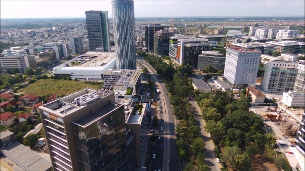 Pipera, ''Silicon Valley'' of the Bucharest (Part.3). Parrot Bebop 2. -  YouTube