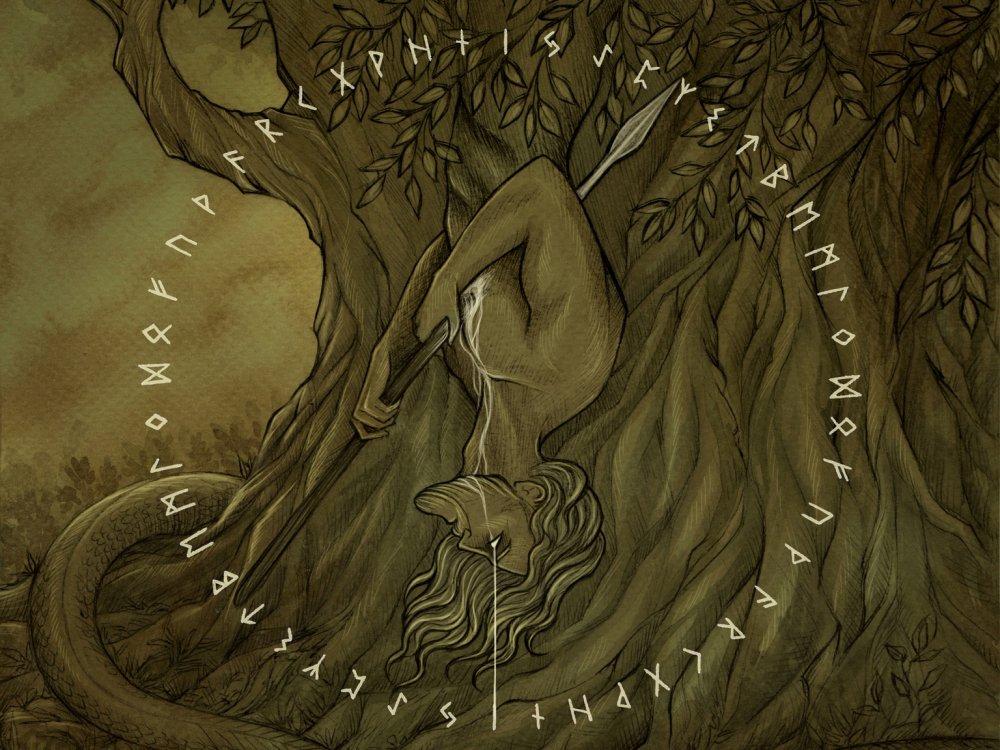 Norse Mythology Odin Hanging - Novocom.top