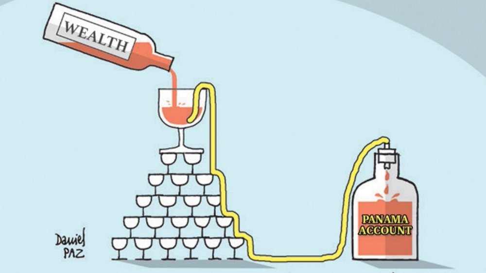 10 (Sadly) Accurate Trickle-Down Economics Illustrations - Woke Daddy
