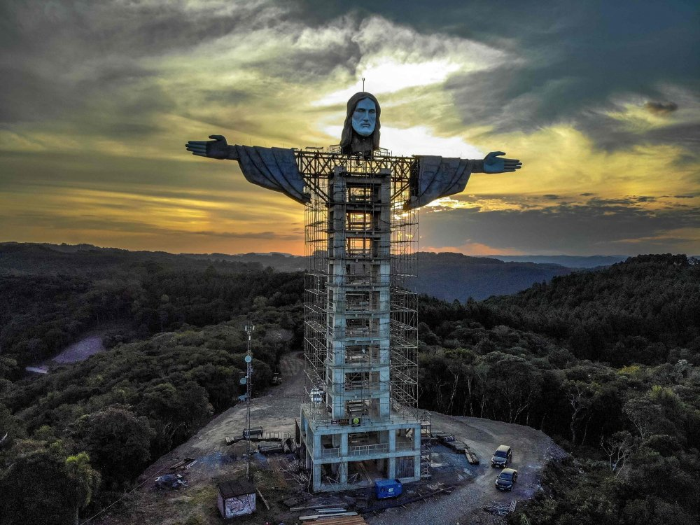 New giant Christ statue, taller than Rio's, to be built in Brazil   Daily  Sabah