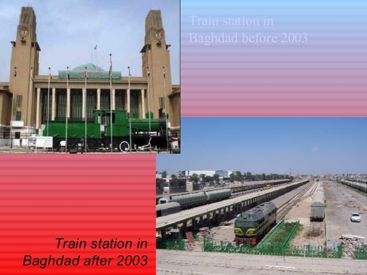 Baghdad Before After
