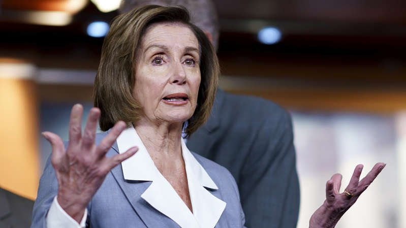 House Speaker Nancy Pelosi on June 30, prior to a vote on the creation of a select committee to investigate the Jan. 6 insurrection. (J. Scott Applewhite/AP)