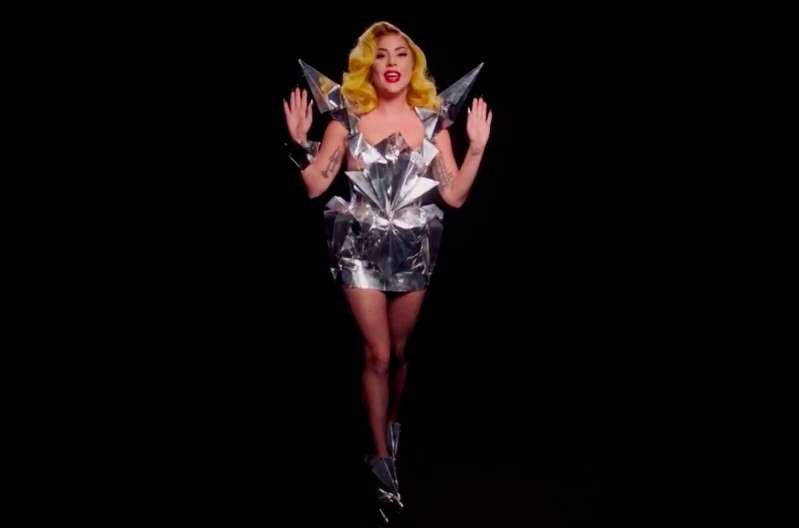 a woman wearing a costume: Lady Gaga
