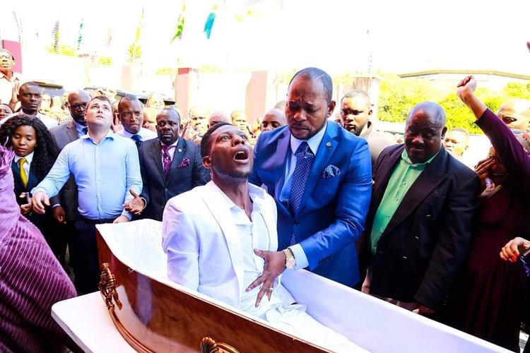 SHOCK as Pastor' Alph Lukau throws 'resurrected man' under the bus ...