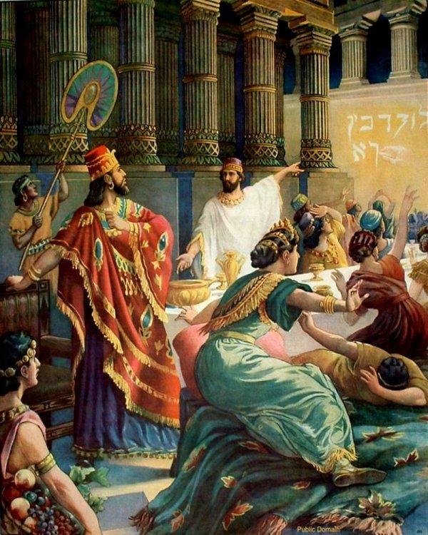 OT2705.Belshazzar's feast | Bible drawings by Otto Semler an… | Flickr