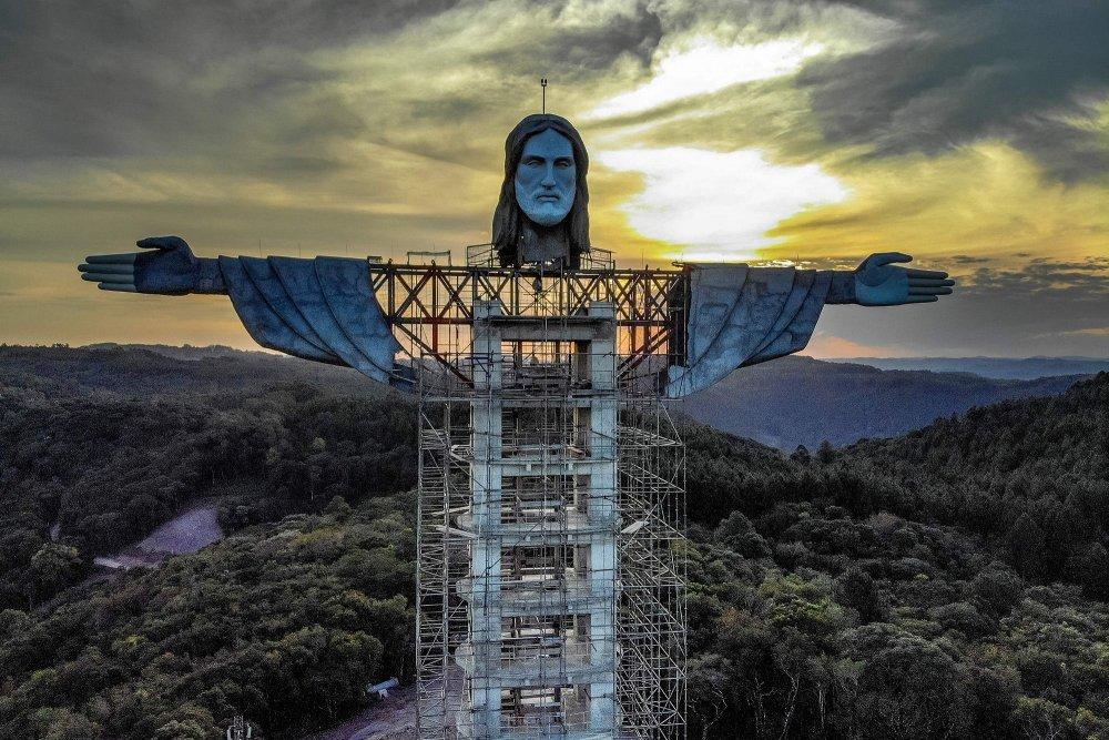 Brazil's new gigantic Christ statue even taller than Rio's