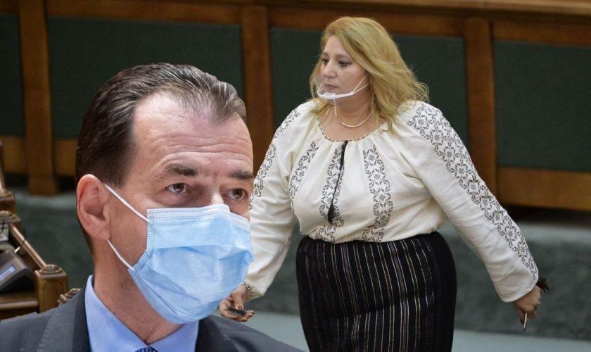 Diana Șoșoacă l-a făcut de rușine pe Ludovic Orban în Parlament, dar colegii au râs în hohote. Ce i-a putut spune în fața tuturor. VIDEO