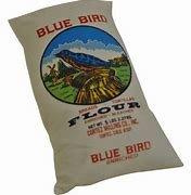 Image result for blue bird flour items