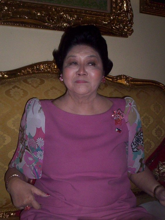 2008 photograph of Imelda Marcos