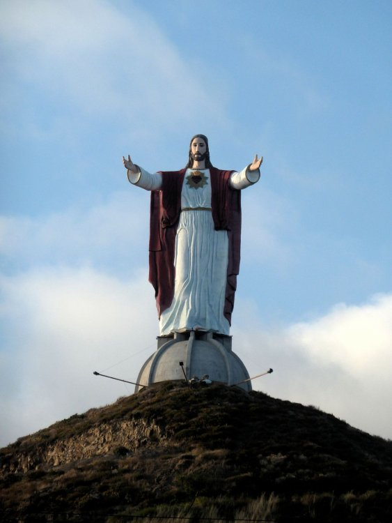 Christ of the Sacred Heart - Wikipedia