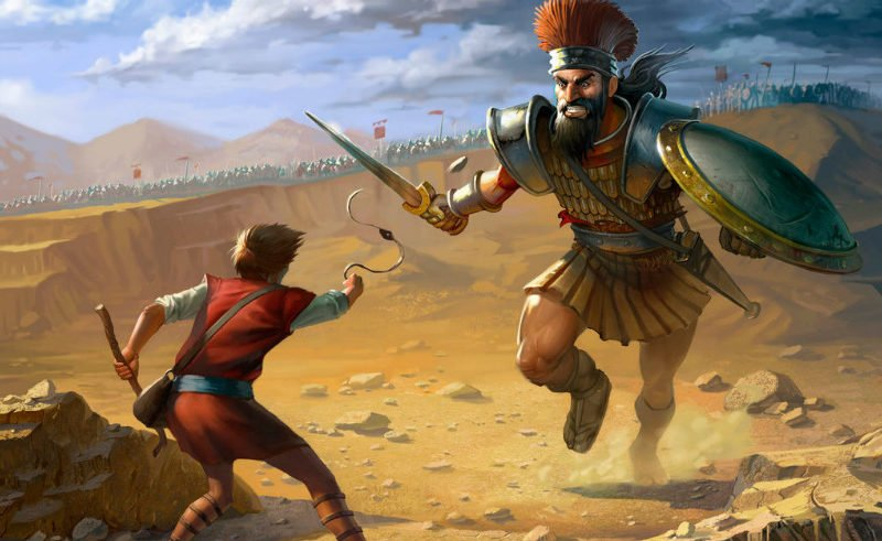 The Eight Hidden Life and Business Lessons in the David and Goliath Story -  #CoffeewithColm Episode 180 - Wig-Wam