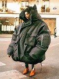 Image result for Rappers in Huge Jackets
