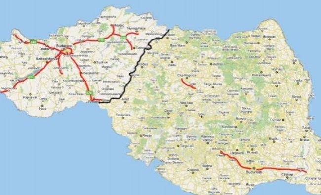 România s-a unit cu Ungaria pe autostradă. Este cea mai bună veste pentru România