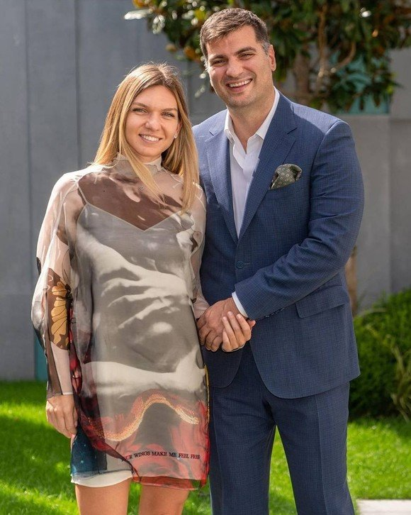 Simona Halep, alături de iubitul ei, Toni Iuruc