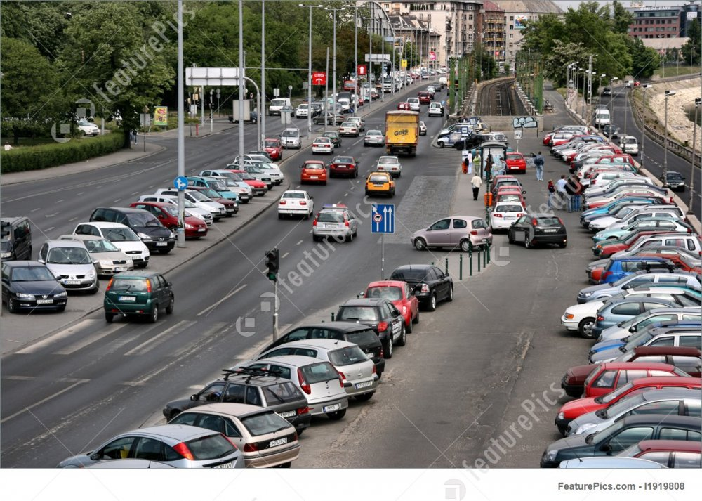 Street Life: Budapest Traffic - Stock Picture I1919808 at FeaturePics