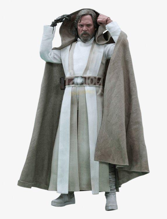 Luke Skywalker - Old Luke Skywalker Costume - 670x1000 PNG Download - PNGkit